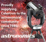 Proudly supplying Celestron to the astronomical community since 1980... Astronomics