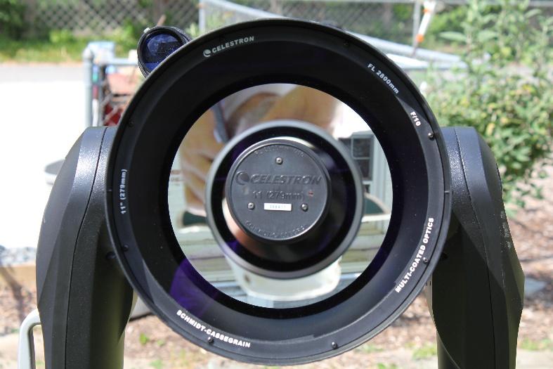 Celestron eclipsmart inch sct solar filter bintel