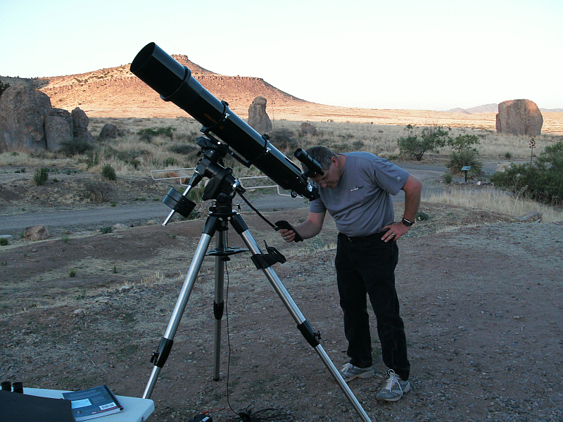 Celestron 6 Quot Refractor And Skyview Pro Mount Revisited