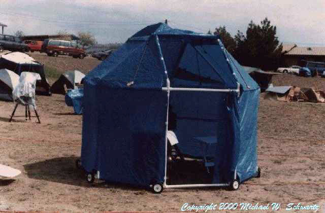 Portable Dome Tents : Cover your astro portable observatory observing domes