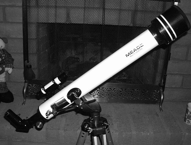 Meade 60mm Refractor : Paperweight or Powerhouse? - 60mm