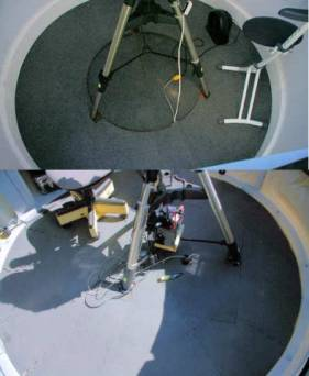 Tripods from top