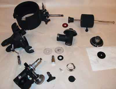 Post Mortem of a Celestron Firstscope 114 - EQ Mounted