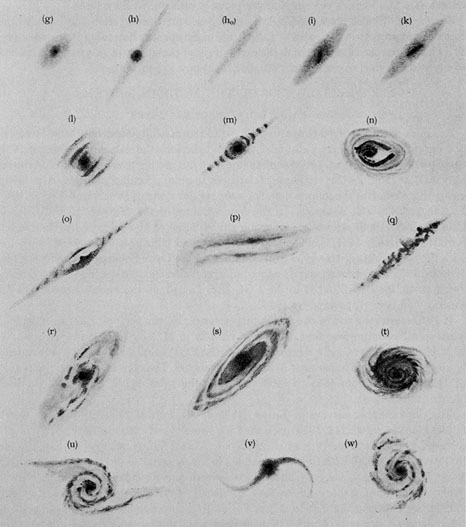 small wonders observing the hubble sequence in the fall