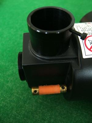 focusing knob