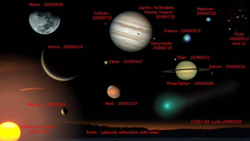the solar system in order from the sun labeled - photo #38