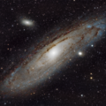 Yet Another Andromeda Galaxy, M31