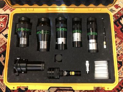 Tele Vue eyepieces in Pelican Storm iM2600 case