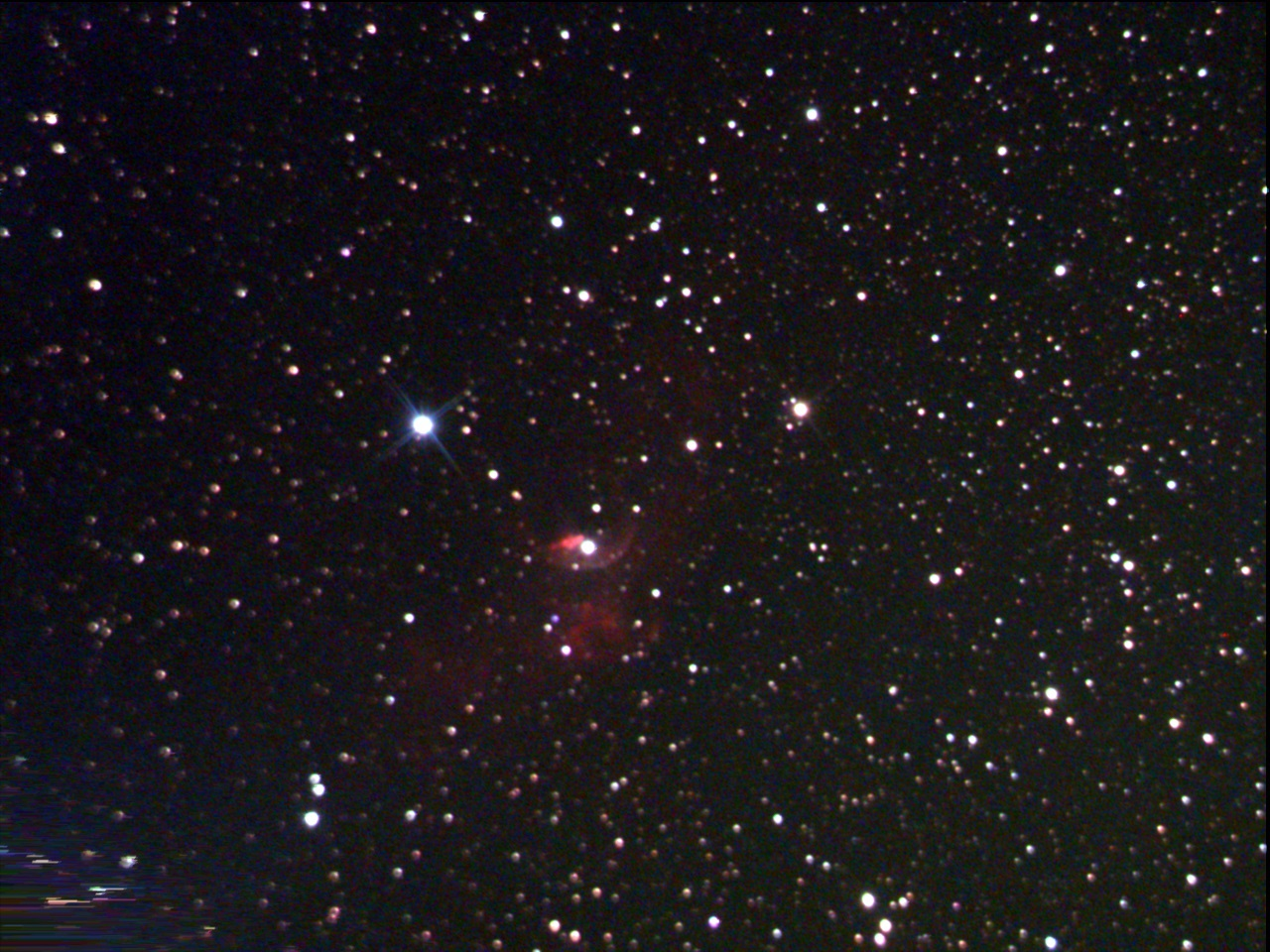ngc7635 bubble  3500Gain 256s 15frames 240s Stretched WithDisplayStretch