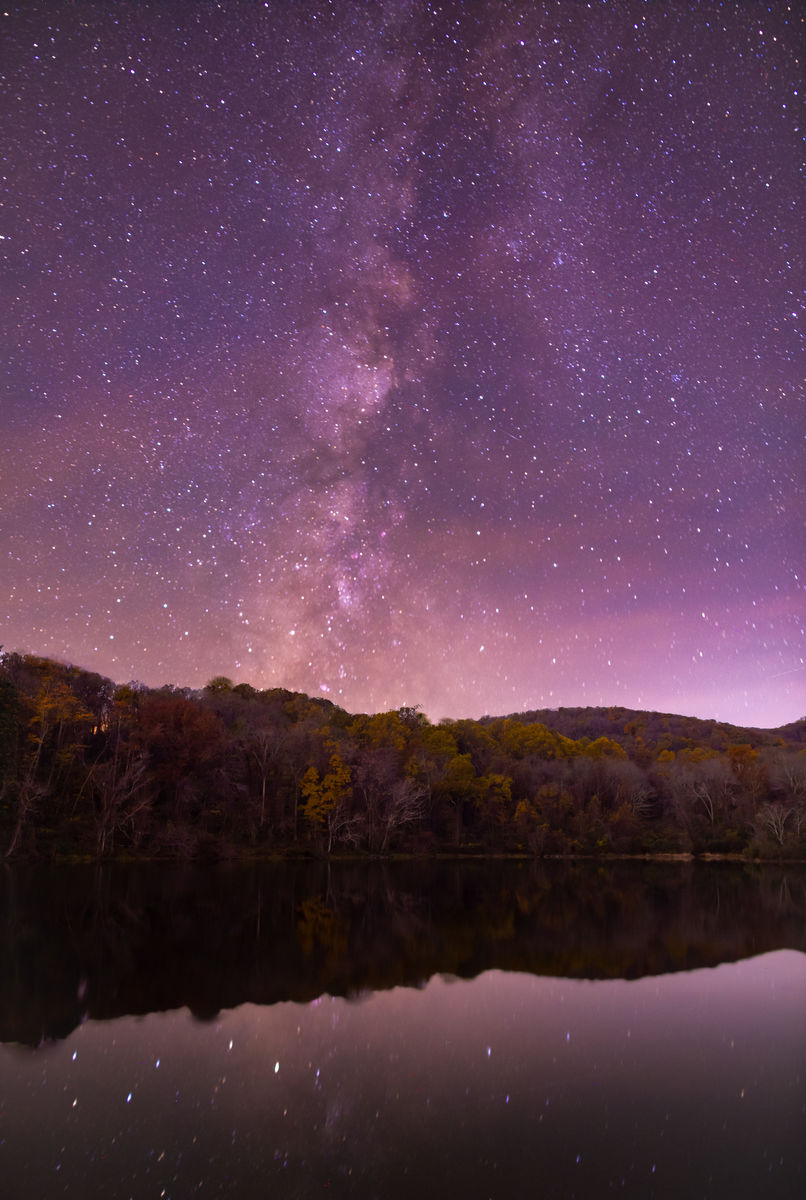 Milky Way- Late Fall in Virginia Skies