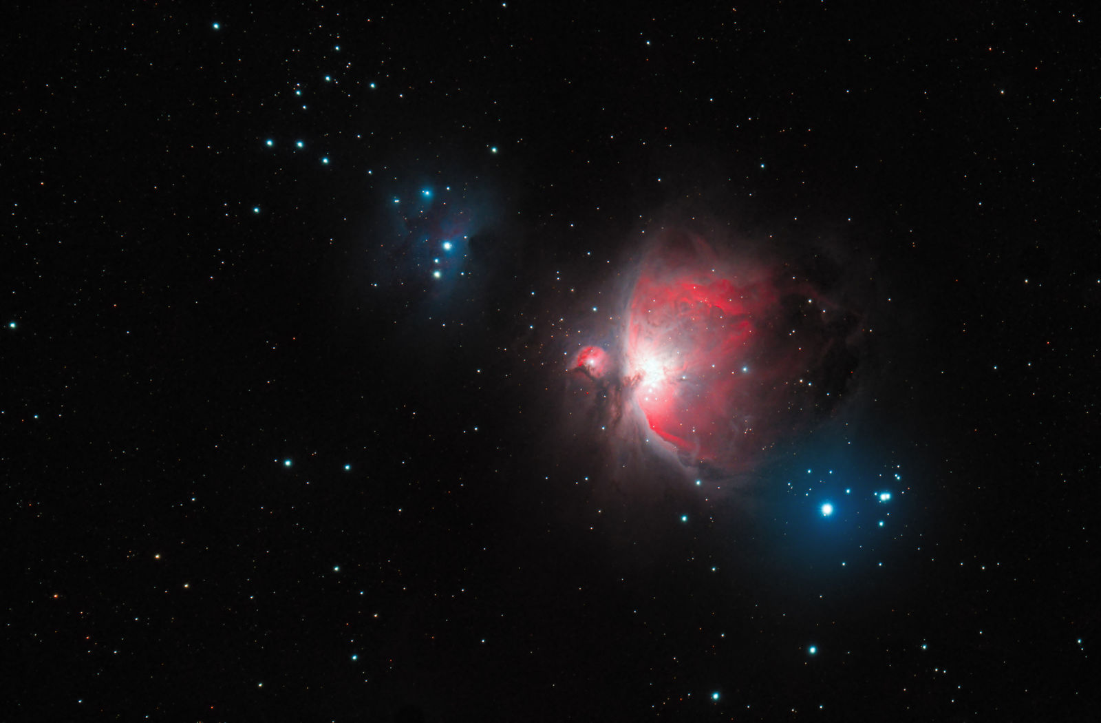 M42 from my Bortle 6 backyard