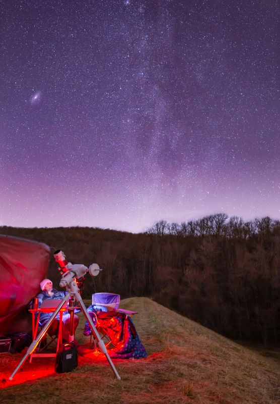 Stargazing and astrophotography with my Daughter