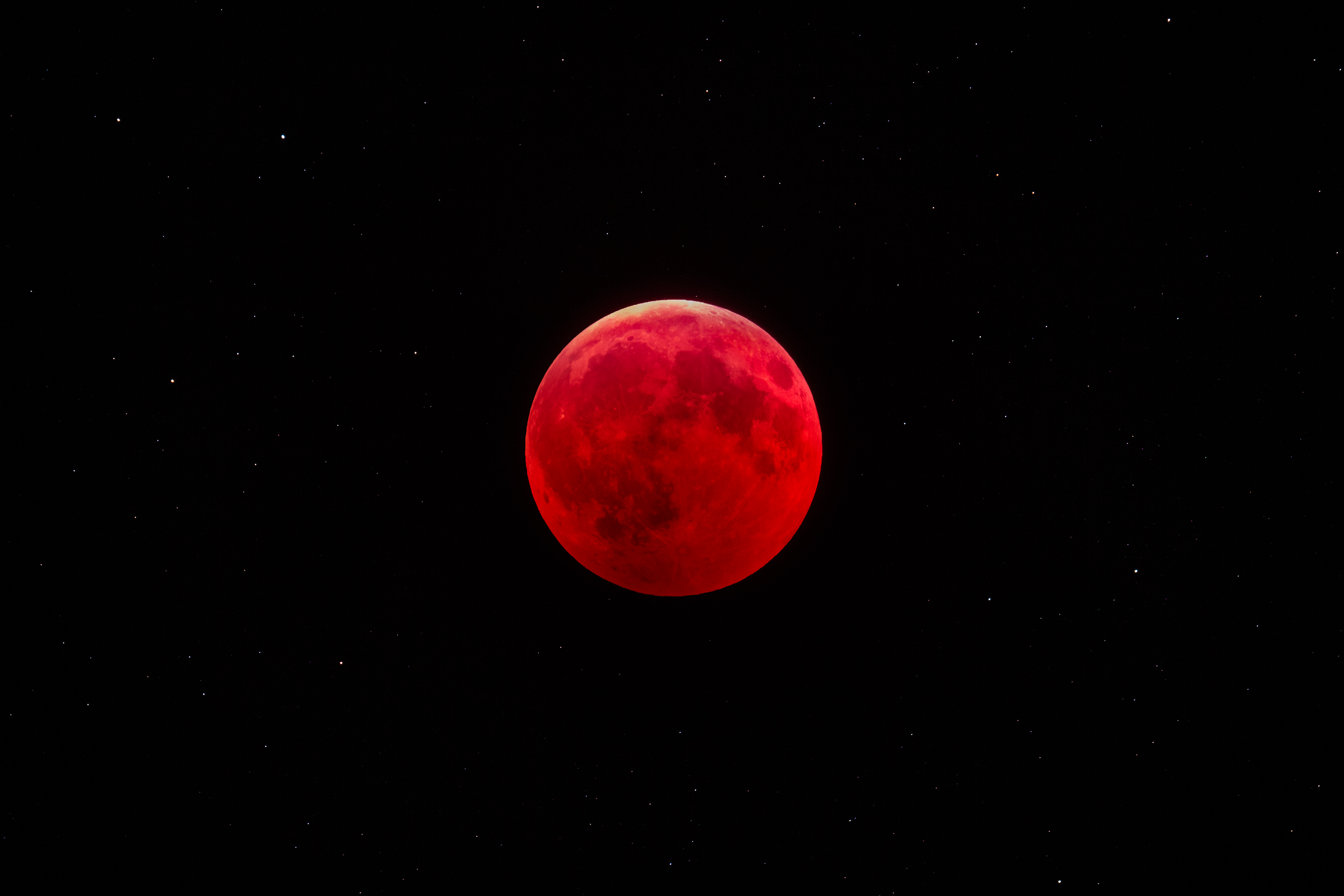 Lunar Eclipse, January 2019