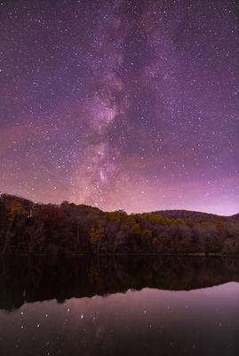 Milky Way- Late Fall in Virginia Skies