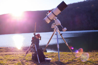 Meade SN-8 and Family in Action
