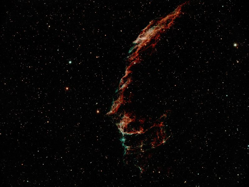 NGC 6992, NGC 6995   The Eastern Veil Nebula A