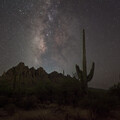 Milky Way over Ironwood National Monument
