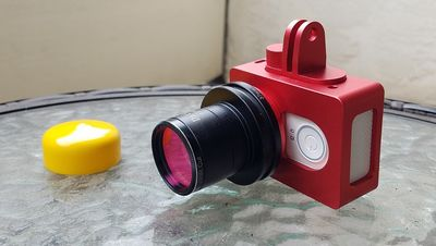 Yi with frame,lens,Tadapter,IRfilter