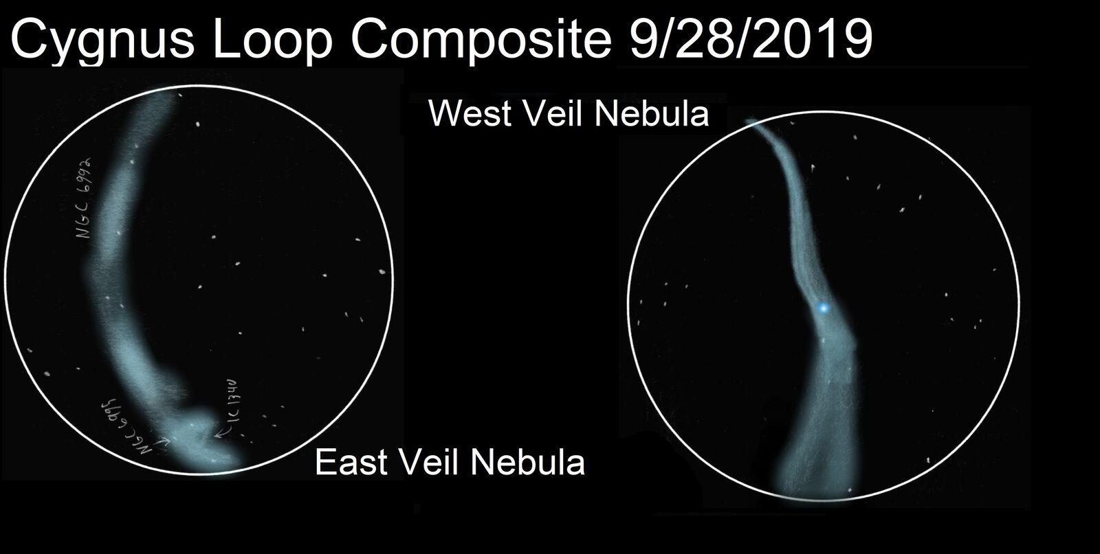 cygnus loop composite