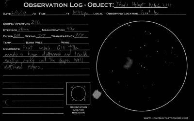 Thors Helmet NGC2359