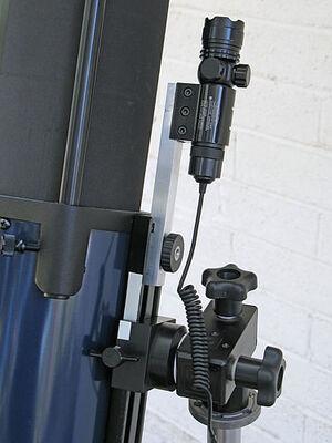 Laser gunsight bracket