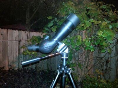 Redfield 20-60x80 spotting scope