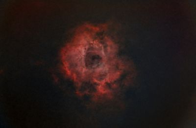 Rosette Nebula (OSC) - Starless version using Starnet++