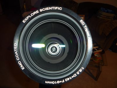 Explore Scientific 140mm f/6.5 FPL53 Refractor Telescope