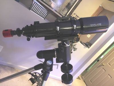 Explore Scientific ED140 Apo Refractor Review Photos