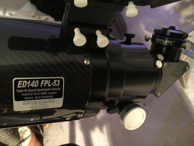 ES ED140 f6.5 FPL-53 Refractor