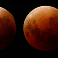 Lunar eclipse 2018 composite