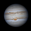 Jupiter and moons, 25 May 2020