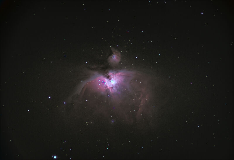 Orion nebula with Pentax 85