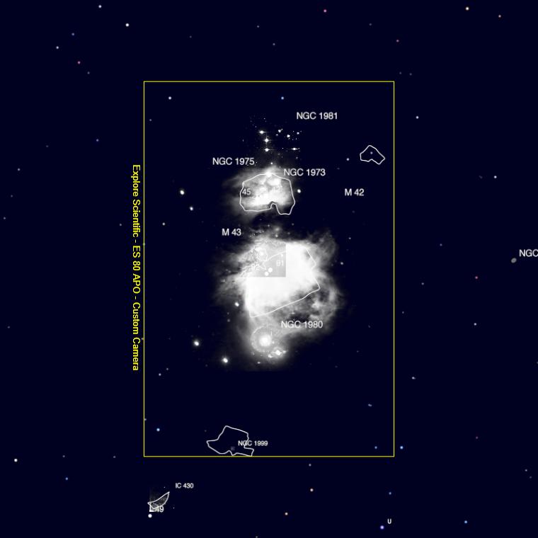 astronomy tools Fov