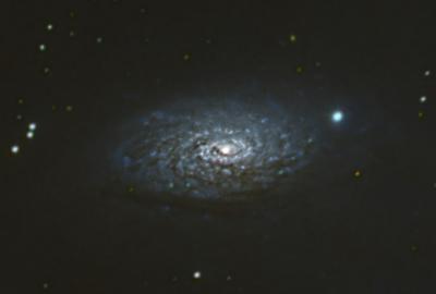 Sunflower Galaxy Closeup