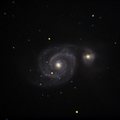 M51 Whirlpool Galaxy WithDisplayStretch Stack 52frames 629s