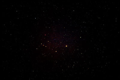 My very first attempt to photograph the night sky