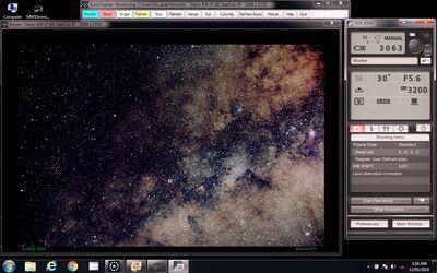 Milky Way 55mm ISO3200 secs30 x 9 frames ScreenGrab