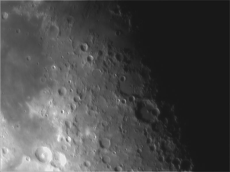 LUNE 11 Mai 2019 1st photo with my new Bresser AR 102L