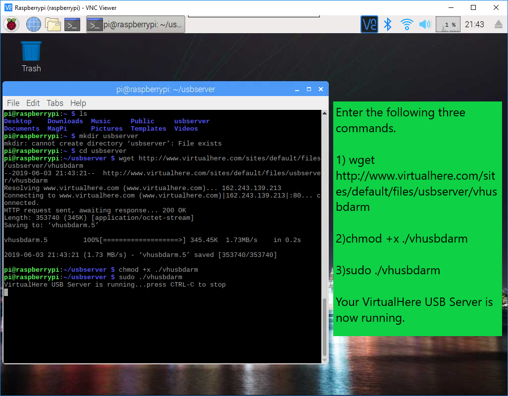 Raspberry Pi USB Server (This is the solution you've been looking
