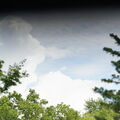 Clouds through WO RedCat with slow back shutter curtain