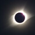 Little Diamond at end of totality
