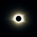 Total Solar Eclipse and Regulus