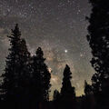 Sagittarius and Jupiter - Kings Canyon Nat'l Park