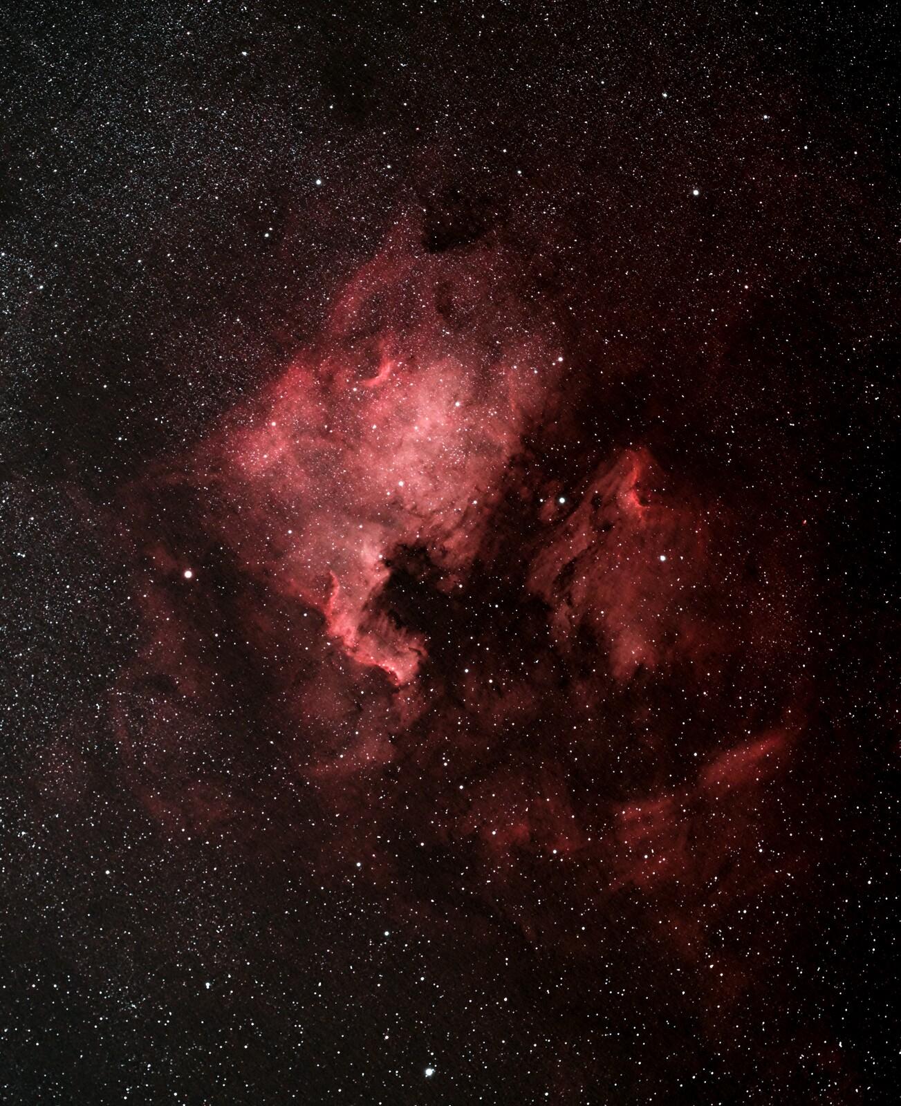 North America Nebula - Spacecat 51 First Light