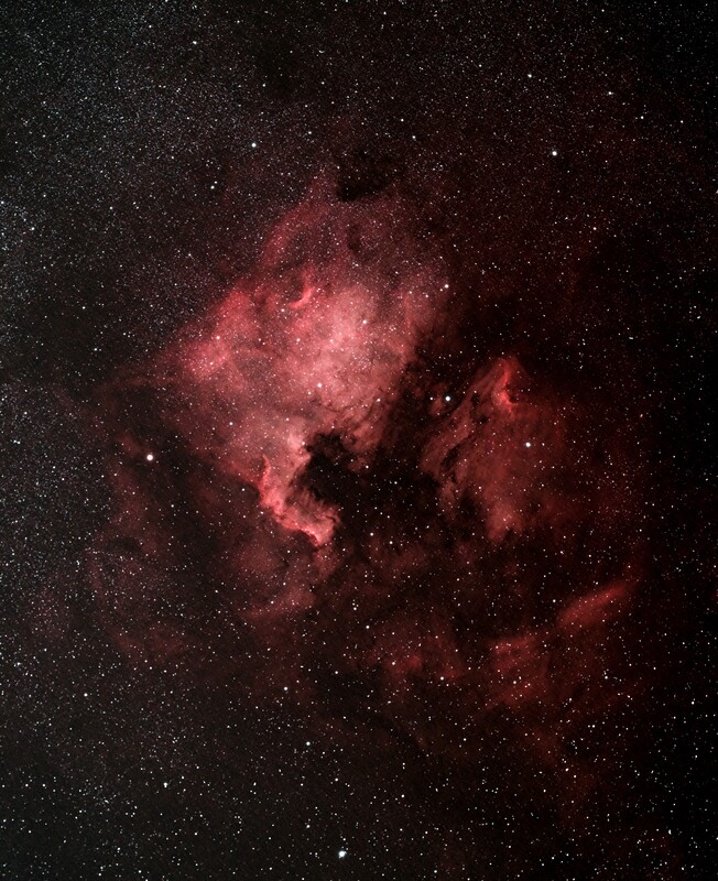 North America Nebula - Spacecat 51 First Light
