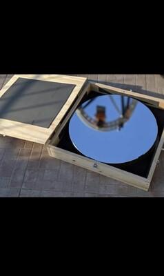 Primary mirror box