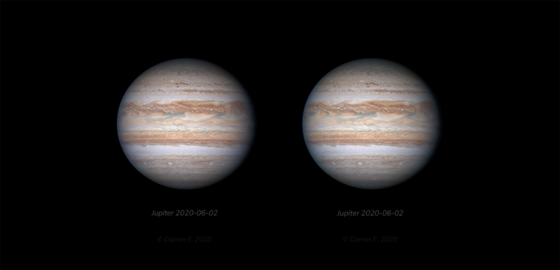 Jupiter 2020-06-02 3D Stereo Animated PNG