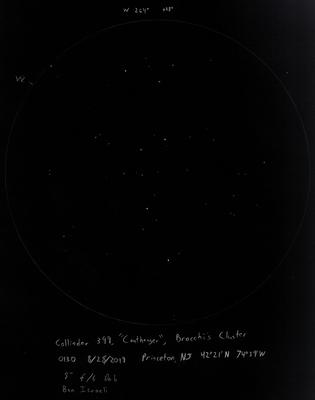 "Collinder 399 - ""Coathanger"" - Brocchi's Cluster 8/28/2019"