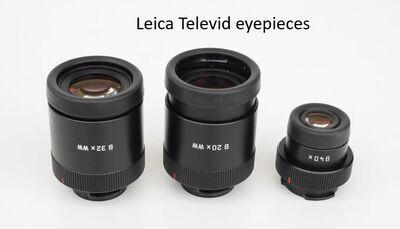 Leica Televid eyepieces